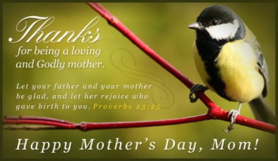 Godly Mother ecard, online card