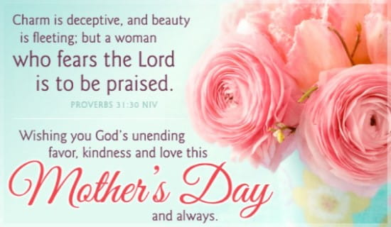 Proverbs 31 niv ecard free mothers day cards online m4hsunfo