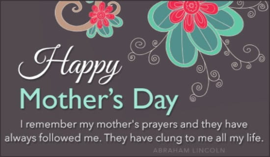 Happy Mother's Day ecard, online card