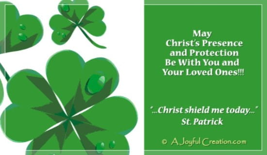 St. Patrick ecard, online card