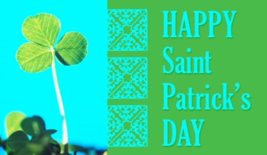 St. Patrick's Day ecard, online card
