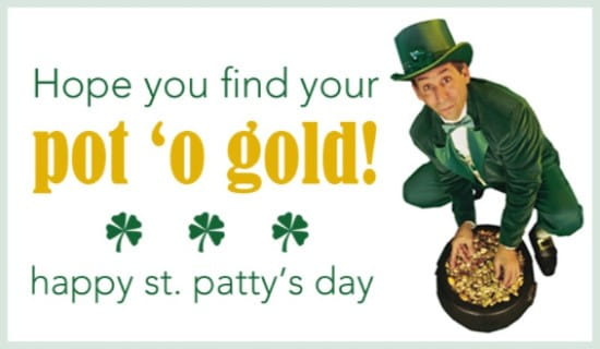 Pot 'o Gold ecard, online card