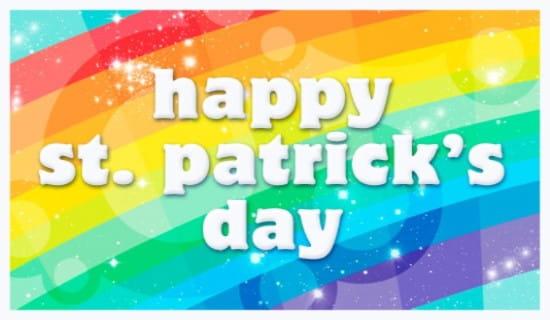 Rainbow ecard, online card