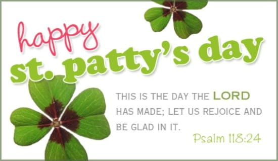 St. Patty's Day ecard, online card