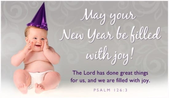 Filled with Joy ecard, online card