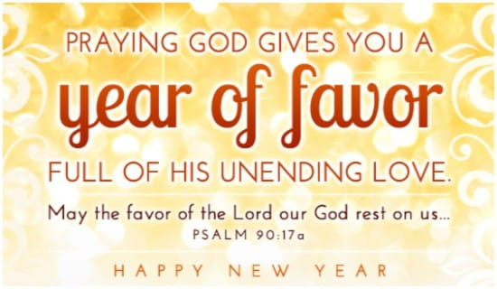 Year of Favor ecard, online card