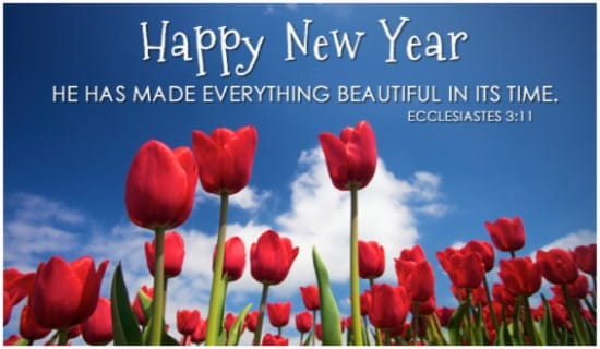 Everything beautiful ecard free new year cards online m4hsunfo