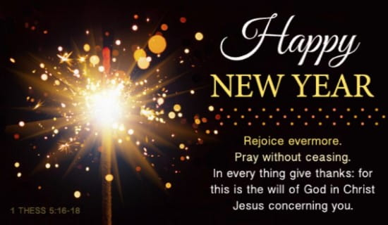 happy new year kjv ecard online card