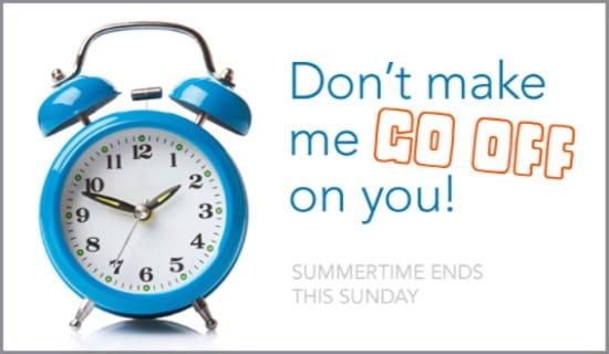 Summertime Ends ecard, online card