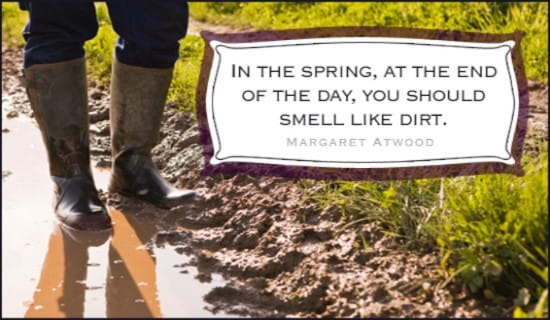 Smell Like Dirt ecard, online card