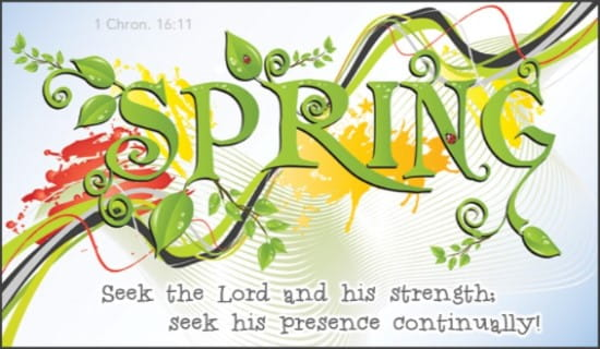1 Chronicles 16:11 ecard, online card