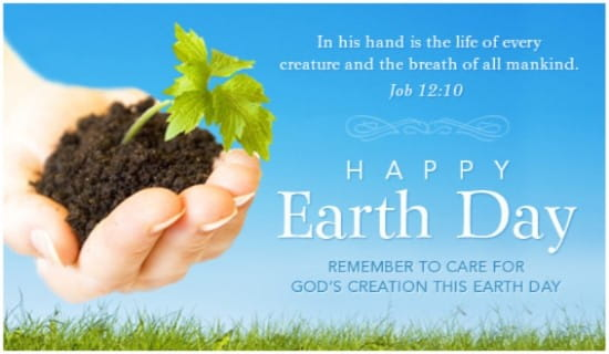 Care for Creation ecard, online card