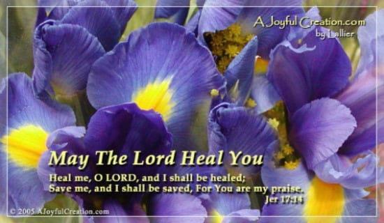 Heal Me ecard, online card