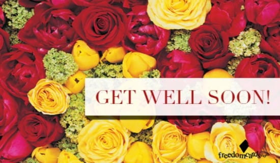 Get Well Soon! ecard, online card