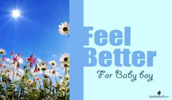Feel Better! ecard, online card