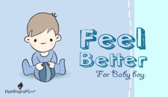 Feel Better ecard, online card