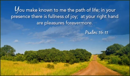 Path of Life ecard, online card