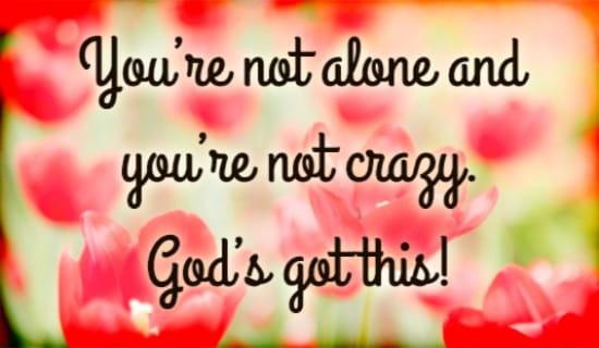 God's Got This ecard, online card