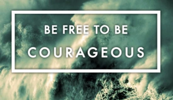 Be Courageous ecard, online card