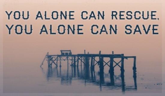 You Alone ecard, online card