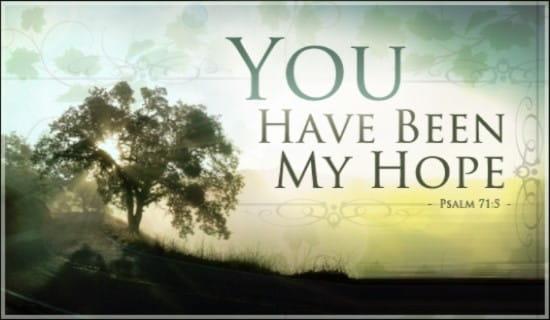 My Hope ecard, online card