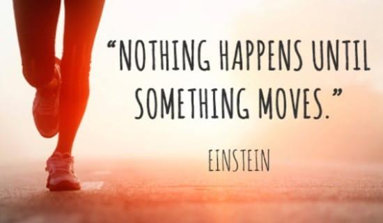 Einstein Quote ecard, online card