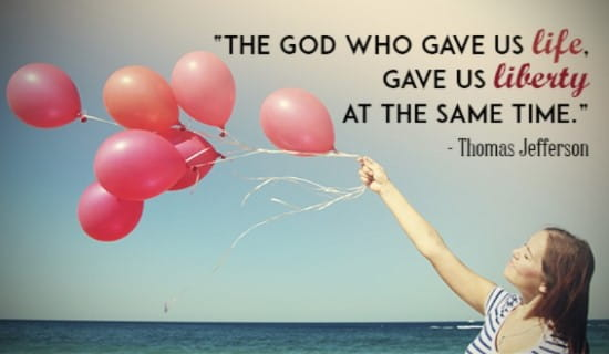 The God Who Gave Us Life ecard, online card