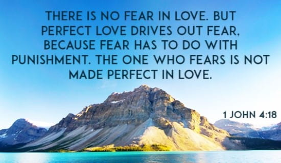 There Is No Fear in Love ecard, online card