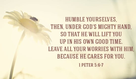 Humble Yourselves Before God ecard, online card