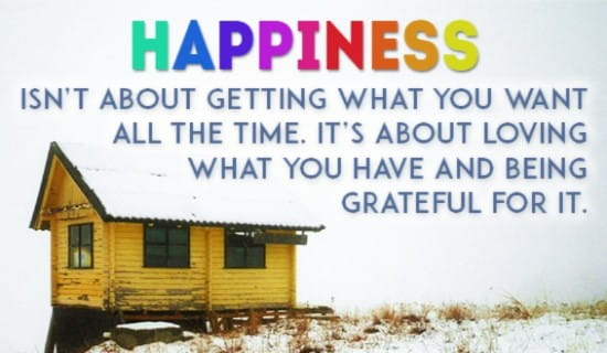 All About Happiness ecard, online card