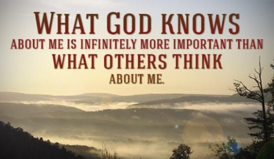 What God Knows about me... ecard, online card