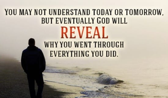 God's got my back! ecard, online card