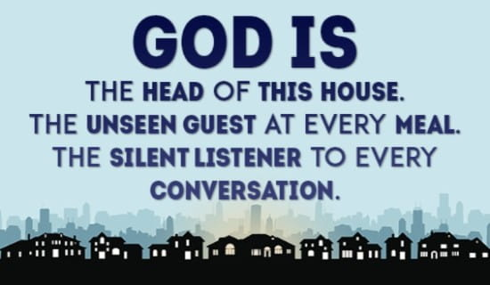 God watches over us EVERYWHERE! ecard, online card