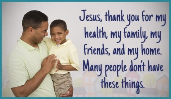 Thank you God for EVERYTHING! ecard, online card