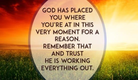 Trust Him! ecard, online card