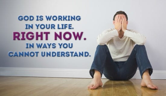 God is working in YOUR life! ecard, online card
