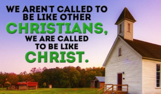 Christ is the ultimate example! ecard, online card