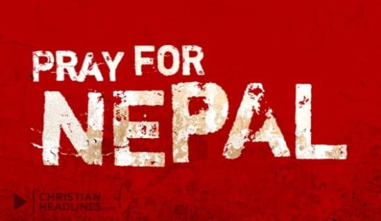 Pray for Nepal ecard, online card