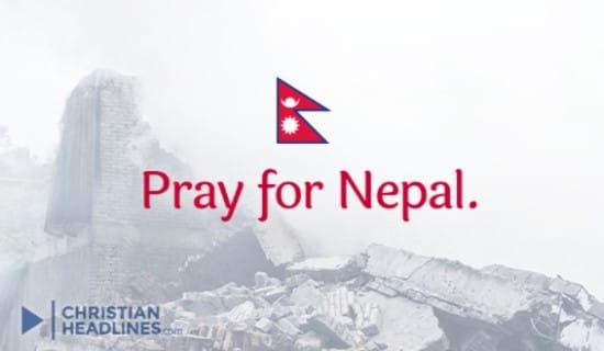 Prayer for Nepal ecard, online card