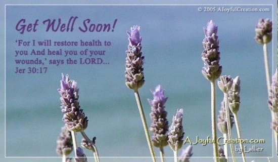 Get Well ecard, online card