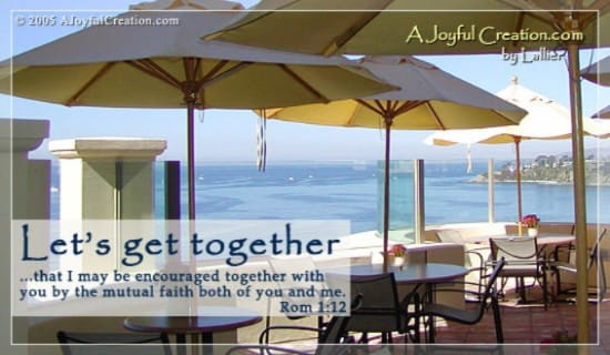 Get Together ecard, online card