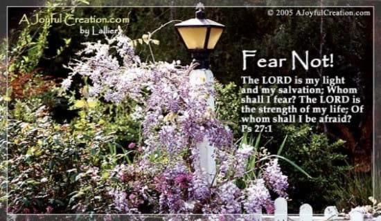 Psalm 27 ecard, online card