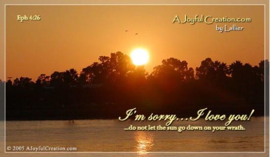 I'm Sorry - I Love You ecard, online card