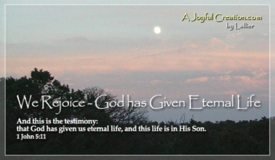 Eternal Life ecard, online card