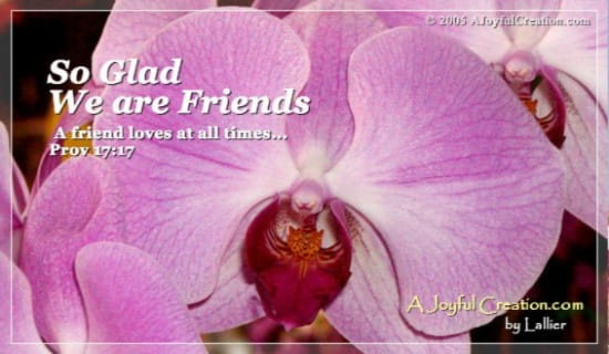 Friends ecard, online card