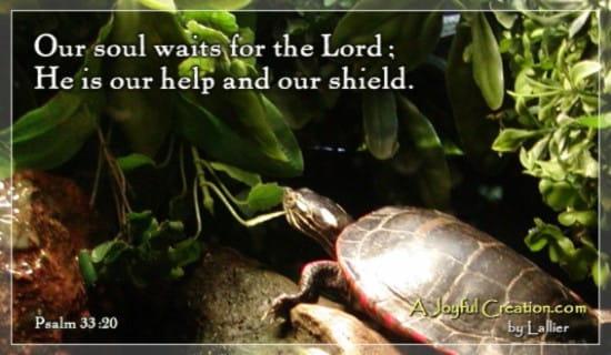 Psalms 33:20 ecard, online card