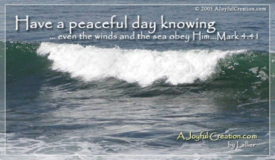 Peaceful Day ecard, online card