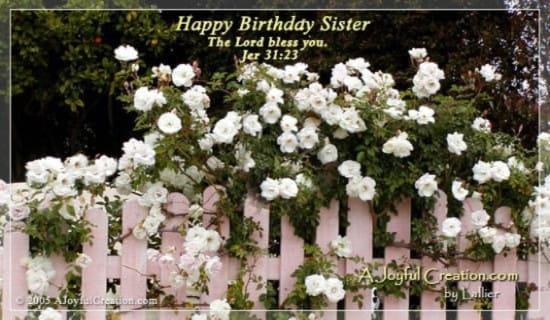 Sister ecard, online card