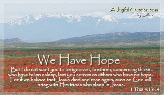 We Have Hope ecard, online card