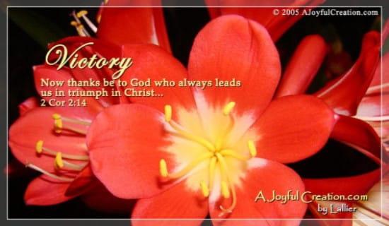 Victory ecard, online card